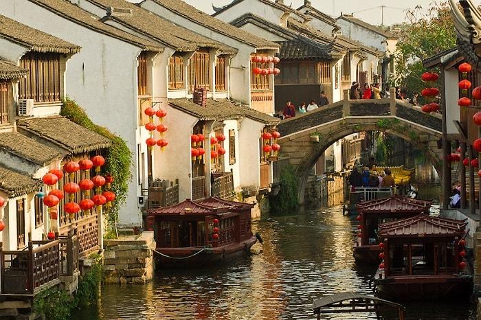 Vẻ đẹp của Châu Giang cổ trấn