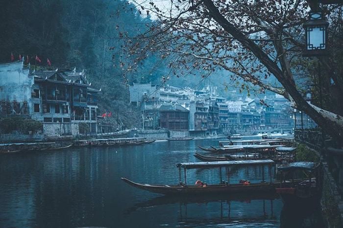 Một góc nhỏ trên sông Đà Giang