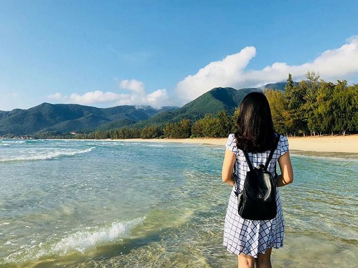 Vẻ đẹp của bãi biển Bình Tiên - Ninh Thuận