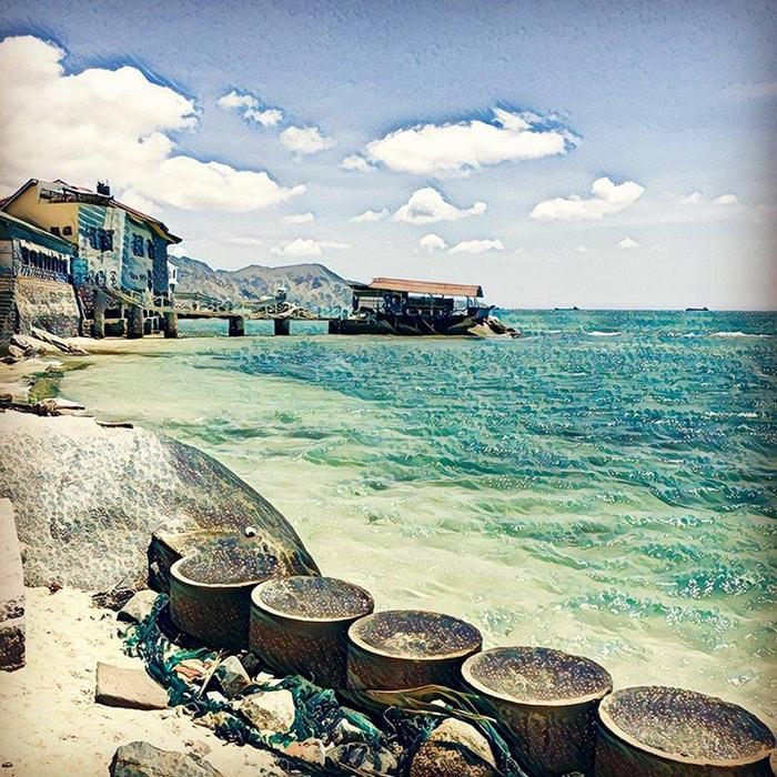 Vẻ đẹp của biển Cà Ná - Ninh Thuận