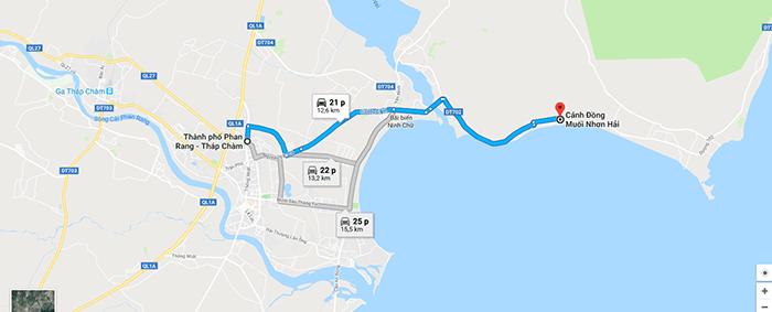 Cánh đồng muối Nhơn Hải - Ninh Thuận