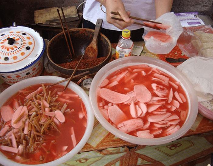 Củ cải muối
