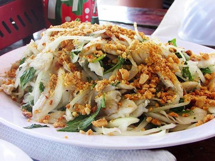 Gỏi cá mai Ninh Thuận