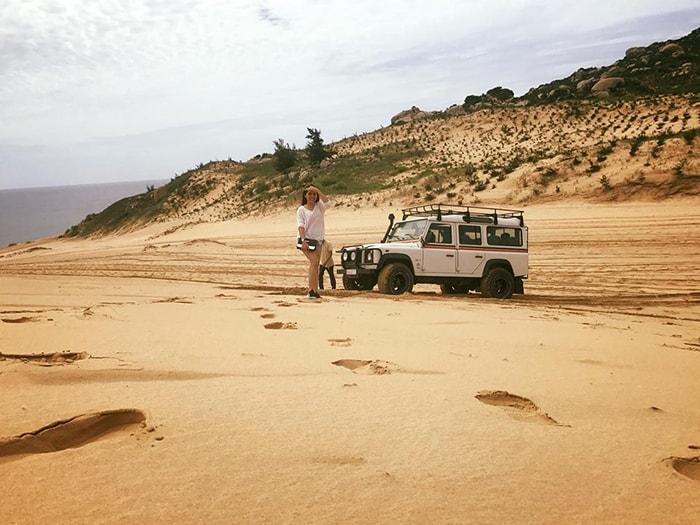 Trải nghiệm các trò chơi trên tiểu sa mạc ở Tanyoli