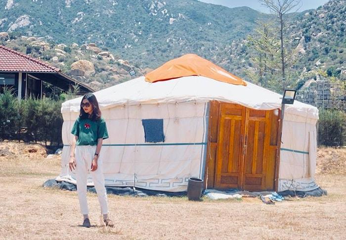 Lều Mông Cổ là chỗ nghỉ ngơi khá thú vị ở Tanyoli