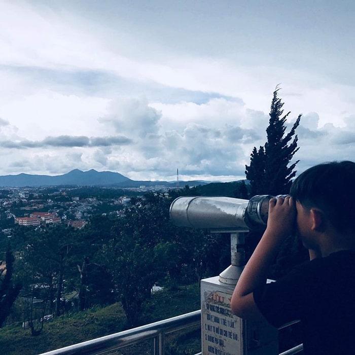 Đài quan sát trên đồi Robin - Đà Lạt