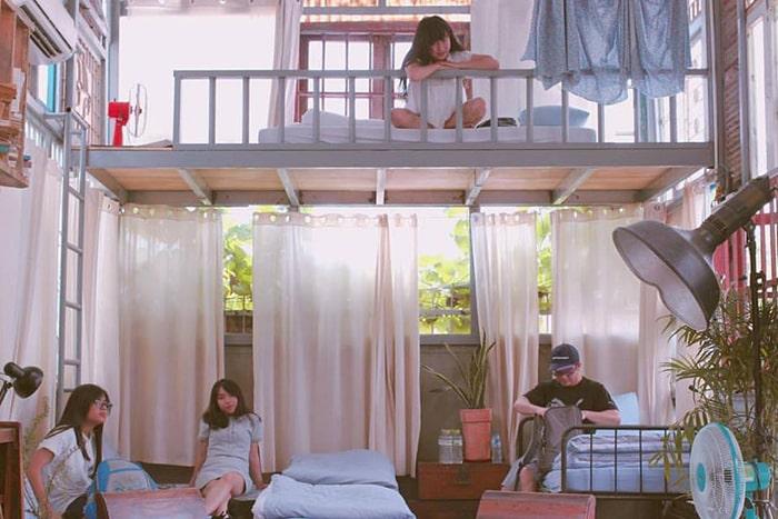 Phòng ở bên trong Là Nhà Homestay