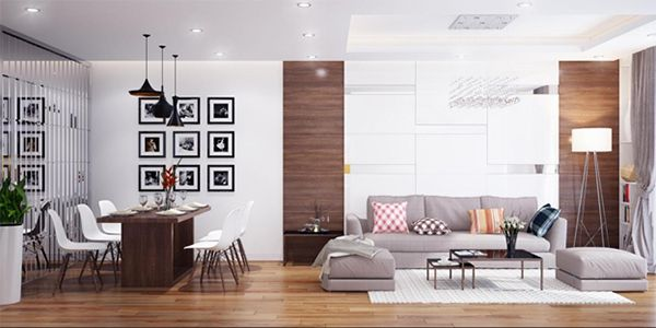 Căn hộ Ecohome 3 là sự kết hợp khéo léo của 2 phong cách kiến trúc nổi bật