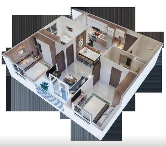 Thiết kế căn hộ chung cư Ecohome 3 mang nhiều ưu điểm lớn