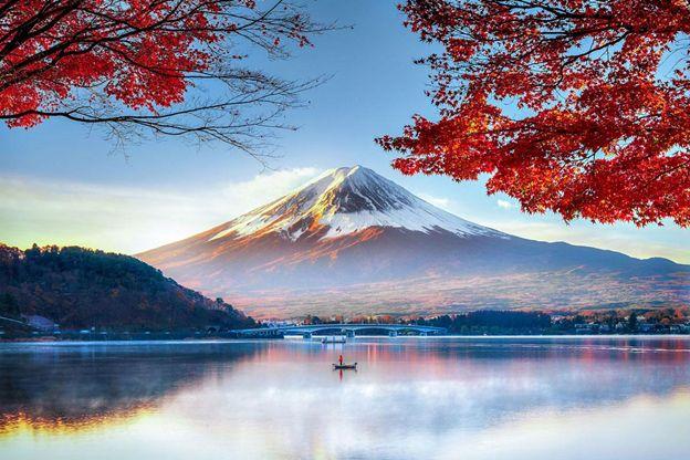 Cảnh quan Nhật Bản vào mùa thu