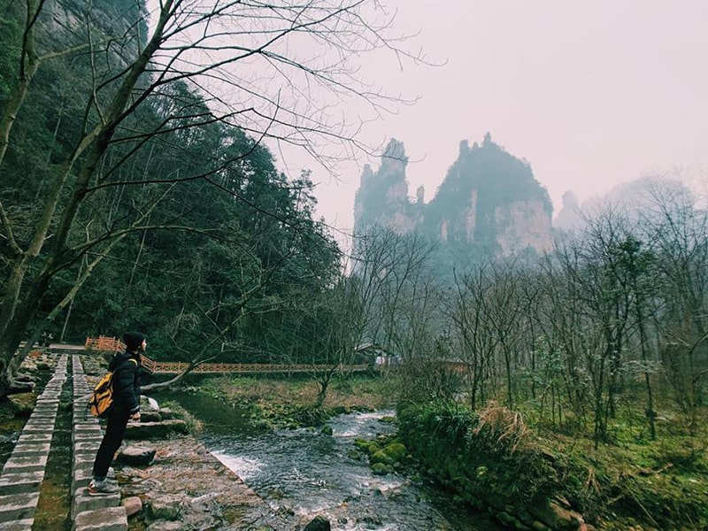 Công viên địa chất Trương Gia Giới