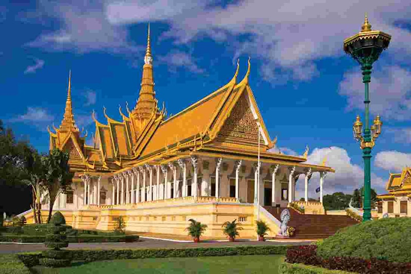 Thời tiết Campuchia khá nóng bức