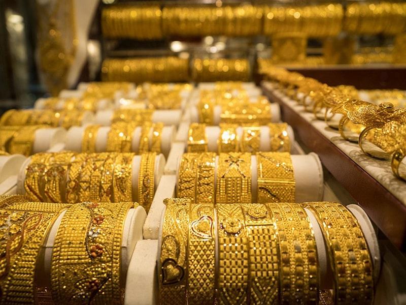 Trang sức bằng vàng ở Dubai