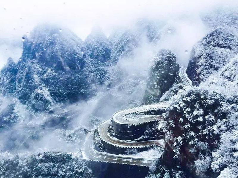 Trương Gia Giới mùa đông