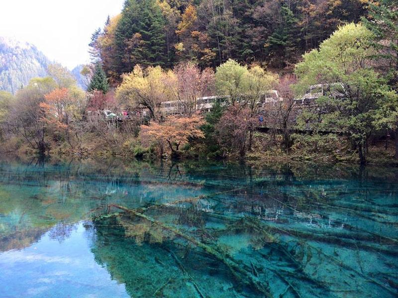 Nên đi Cửu Trại Câu vào mùa thu là đẹp nhất
