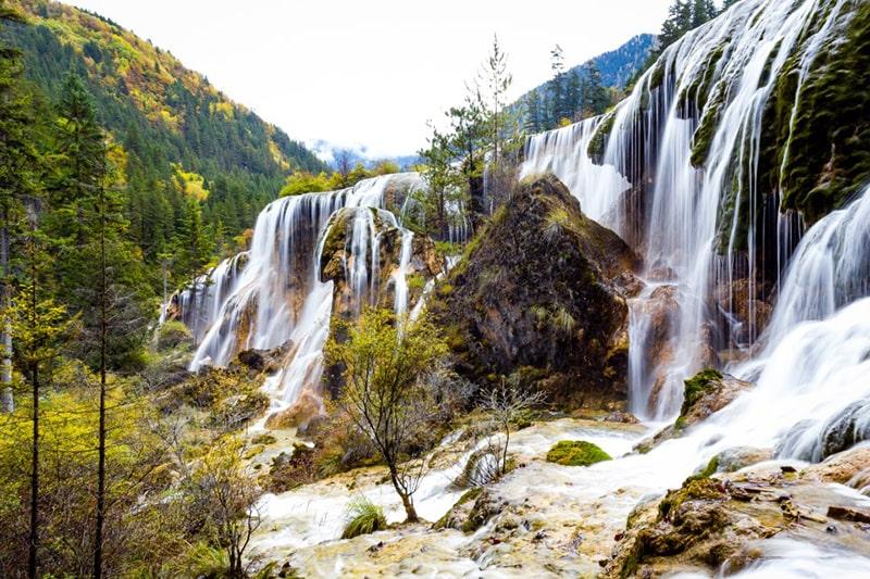 Thác Trân Châu - Pearl Shoal waterfall - 珍珠滩瀑布
