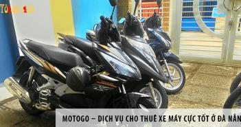 MOTOGO – Dịch vụ cho thuê xe máy cực tốt ở Đà Nẵng