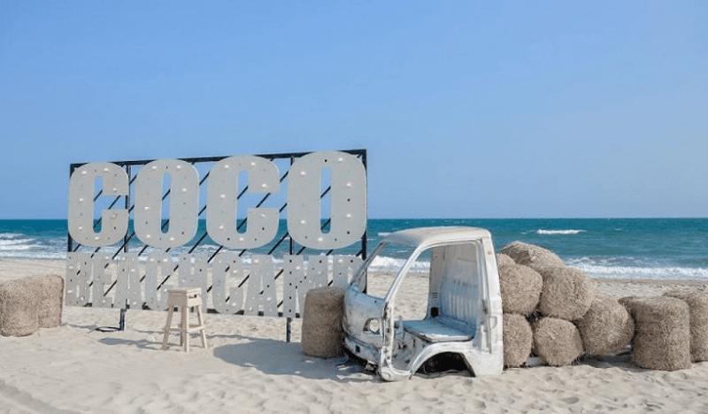 Coco Beach Bình Thuận có rất nhiều góc sống ảo