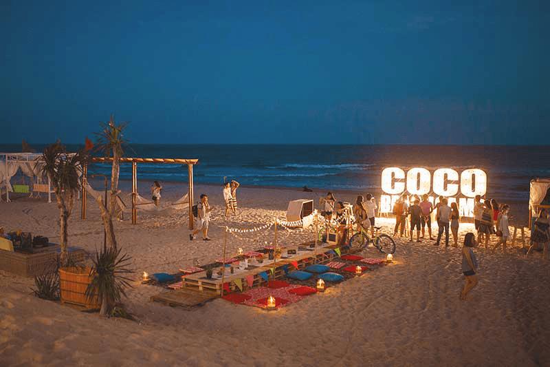 Tiệc tối trên biển Coco Beach Bình Thuận