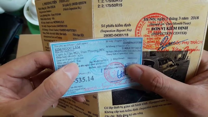 Kiểm tra kỹ giấy tờ xe trước mỗi chuyến du lịch