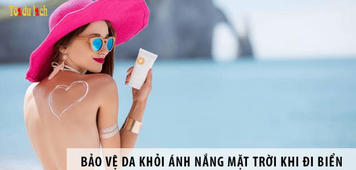5 cách đơn giản bảo vệ da khỏi ánh nắng mặt trời khi đi biển